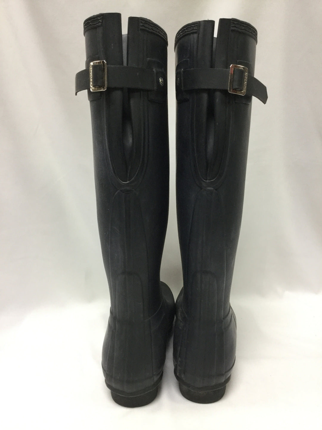 Photo #3 - BRAND: HUNTER <BR>STYLE: BOOTS ANKLE <BR>COLOR: BLACK <BR>SIZE: 10 <BR>OTHER INFO: NOTED WEAR <BR>SKU: 155-15599-236144