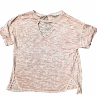 Primary Photo - BRAND: WE THE FREE STYLE: TOP SHORT SLEEVE COLOR: PINK SIZE: M SKU: 155-155228-1702