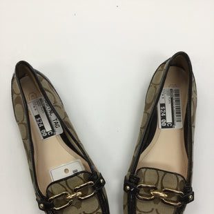 Primary Photo - BRAND: COACH STYLE: SHOES FLATS COLOR: BROWN SIZE: 6.5 SKU: 155-155185-5527