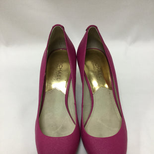 Primary Photo - BRAND: MICHAEL BY MICHAEL KORS STYLE: SHOES HIGH HEEL COLOR: PINK SIZE: 7 SKU: 155-155220-7554