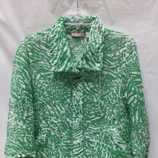 Primary Photo - BRAND: CHICOS STYLE: BLAZER JACKET COLOR: GREEN SIZE: M SKU: 155-155224-7821