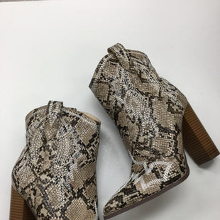 Primary Photo - BRAND: LILIANA STYLE: BOOTS ANKLE COLOR: SNAKESKIN PRINT SIZE: 8 SKU: 155-155130-206489
