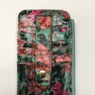 Primary Photo - BRAND:    CLOTHES MENTOR STYLE: WALLET COLOR: FLORAL SIZE: SMALL SKU: 155-155187-22726AQUA, PINK, BLACK