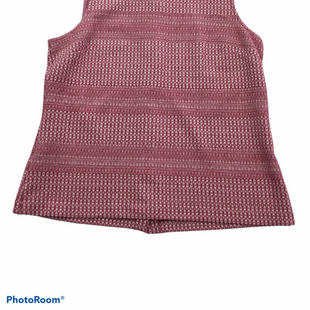 Primary Photo - BRAND: BANANA REPUBLIC STYLE: TOP SLEEVELESS COLOR: RED WHITE SIZE: M SKU: 155-155245-358