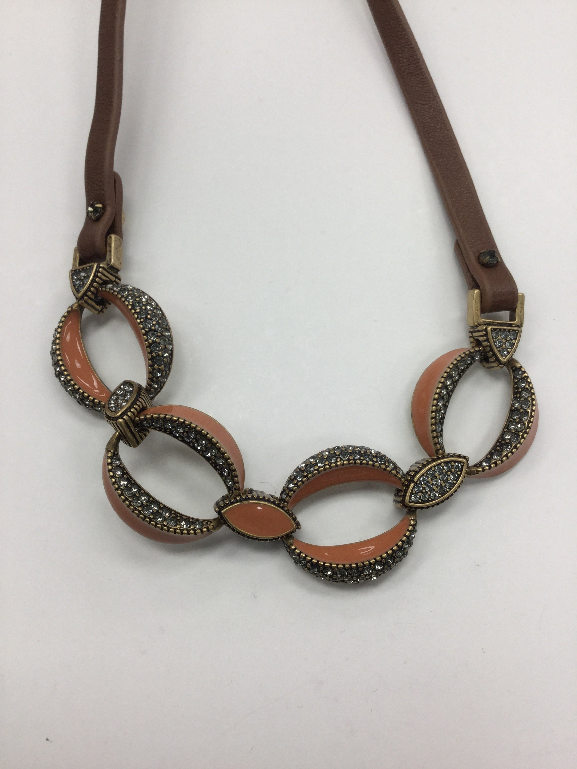 Photo #1 - BRAND: ANN TAYLOR LOFT <BR>STYLE: NECKLACE <BR>COLOR: BROWN <BR>SKU: 155-155130-204116