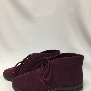 Primary Photo - BRAND:    CLOTHES MENTOR STYLE: BOOTS ANKLE COLOR: BURGUNDY SIZE: 9 OTHER INFO: WIDE SKU: 155-155224-17145