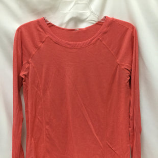 Primary Photo - BRAND: LULULEMON STYLE: ATHLETIC TOP COLOR: CORAL SIZE: S SKU: 155-155185-7089
