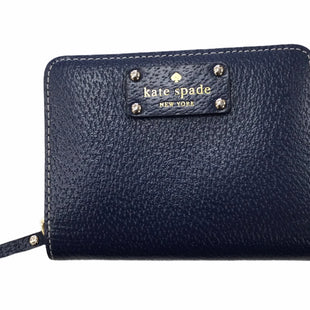 Primary Photo - BRAND: KATE SPADE STYLE: WALLET COLOR: NAVY SIZE: MEDIUM SKU: 155-155224-25736