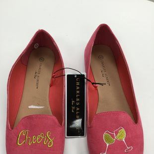 Primary Photo - BRAND:    CHARLES ALBERTSTYLE: SHOES FLATS COLOR: SILVER SIZE: 10 OTHER INFO: CHARLES ALBERT - SKU: 155-155224-7485