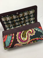 Photo #2 - BRAND: VERA BRADLEY <BR>STYLE: WALLET <BR>COLOR: PAISLEY <BR>SIZE: LARGE <BR>OTHER INFO: NEW! <BR>SKU: 155-155130-206841