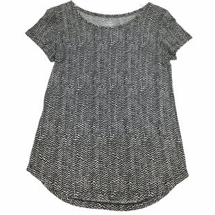 Primary Photo - BRAND: GAP STYLE: TOP SHORT SLEEVE COLOR: BLACK WHITE SIZE: XS SKU: 155-155224-22871