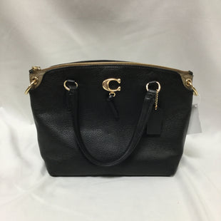 Primary Photo - BRAND: COACH STYLE: HANDBAG DESIGNER COLOR: BLACK SIZE: MEDIUM SKU: 155-155224-18993