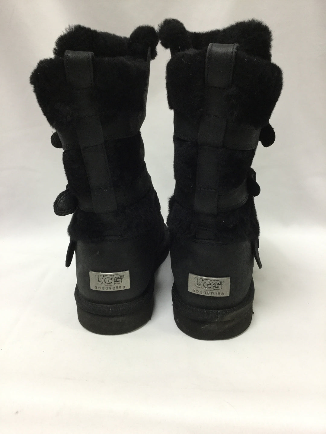 Photo #3 - BRAND: UGG <BR>STYLE: BOOTS KNEE <BR>COLOR: BLACK <BR>SIZE: 11 <BR>SKU: 155-15599-235498