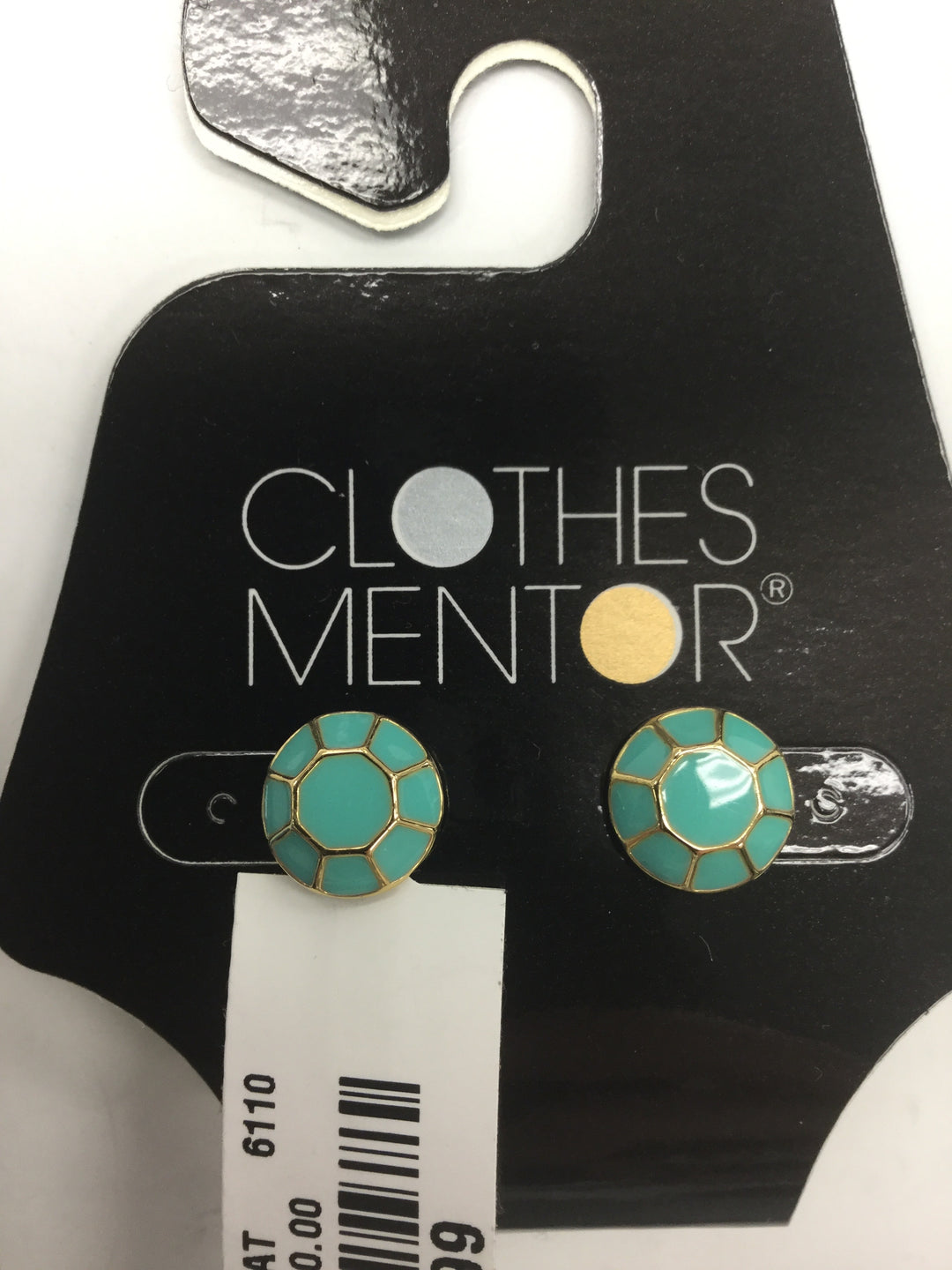 Primary Photo - BRAND: KATE SPADE <BR>STYLE: EARRINGS <BR>COLOR: MINT <BR>SKU: 155-15545-207106