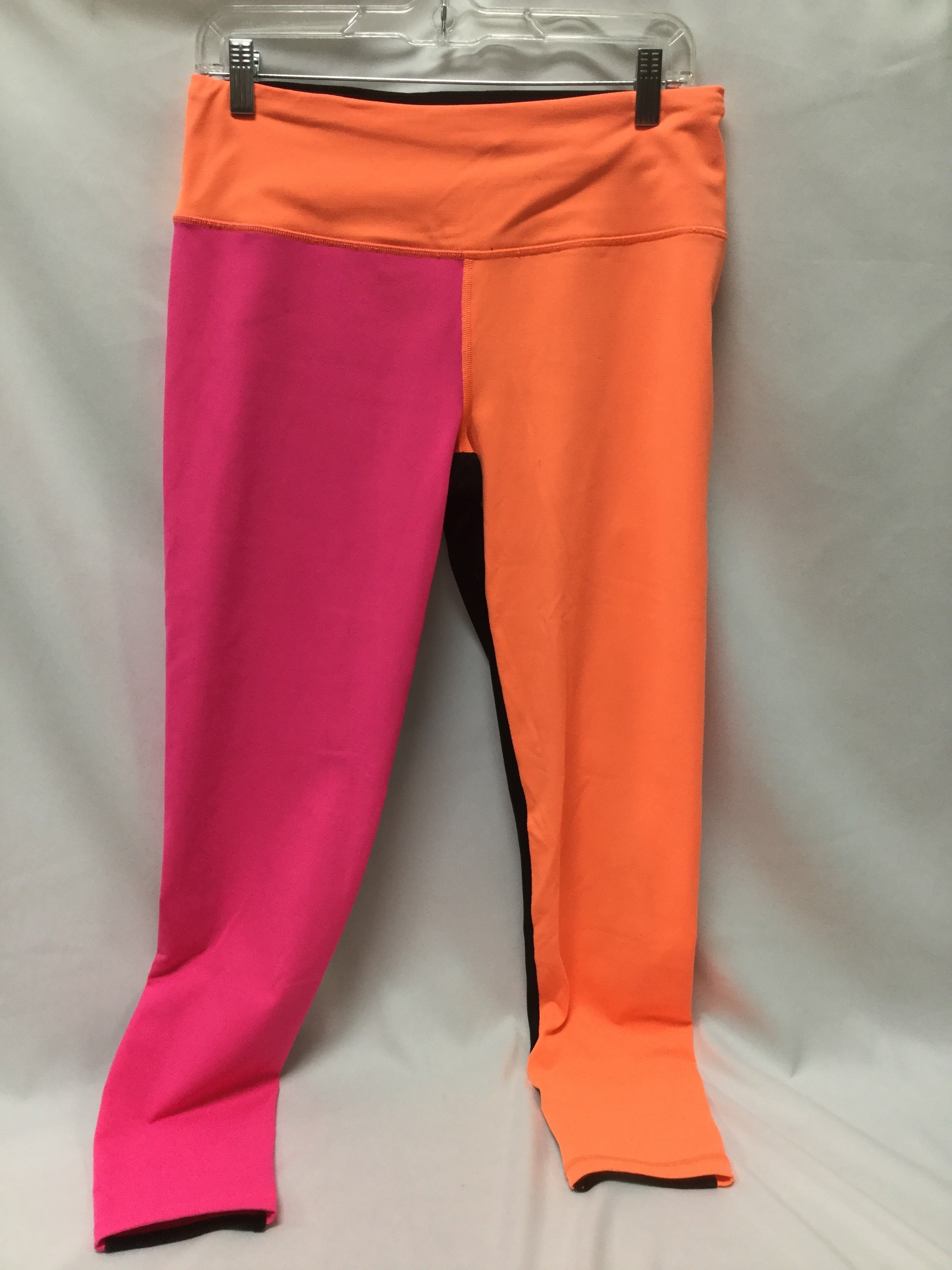 Primary Photo - BRAND: VICTORIAS SECRET <BR>STYLE: ATHLETIC PANTS <BR>COLOR: NEON <BR>SIZE: L <BR>SKU: 155-155185-8384