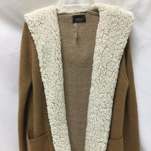 Primary Photo - BRAND: ZARA BASIC STYLE: SWEATER CARDIGAN HEAVYWEIGHT COLOR: TAN SIZE: M SKU: 155-155130-214468