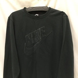 Primary Photo - BRAND: NIKE APPAREL STYLE: ATHLETIC TOP COLOR: CHARCOAL SIZE: L SKU: 155-155187-24093