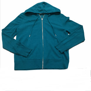 Primary Photo - BRAND: BURBERRY STYLE: ATHLETIC JACKET COLOR: TEAL SIZE: M SKU: 155-15599-243140