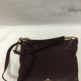 Primary Photo - BRAND: COACH STYLE: HANDBAG DESIGNER COLOR: MAROON SIZE: LARGE SKU: 155-155130-205317