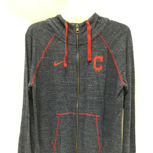 Primary Photo - BRAND: NIKE APPAREL STYLE: ATHLETIC JACKET COLOR: NAVY SIZE: L SKU: 155-155224-18857