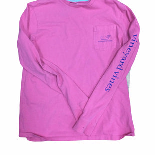 Primary Photo - BRAND: VINEYARD VINES STYLE: TOP LONG SLEEVE COLOR: PINK SIZE: L SKU: 155-155224-25881