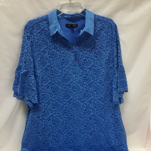Primary Photo - BRAND: BANANA REPUBLIC O STYLE: DRESS SHORT SHORT SLEEVE COLOR: BLUE SIZE: XL SKU: 155-155163-124383