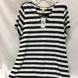 Primary Photo - BRAND: MICHAEL BY MICHAEL KORS STYLE: DRESS SHORT SHORT SLEEVE COLOR: STRIPED SIZE: 1X OTHER INFO: NEW! SKU: 155-155130-214591