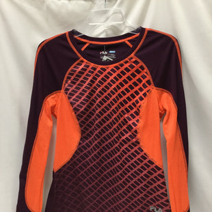 Primary Photo - BRAND: FILA STYLE: ATHLETIC TOP COLOR: ORANGE PLUMSIZE: S SKU: 155-155130-206024