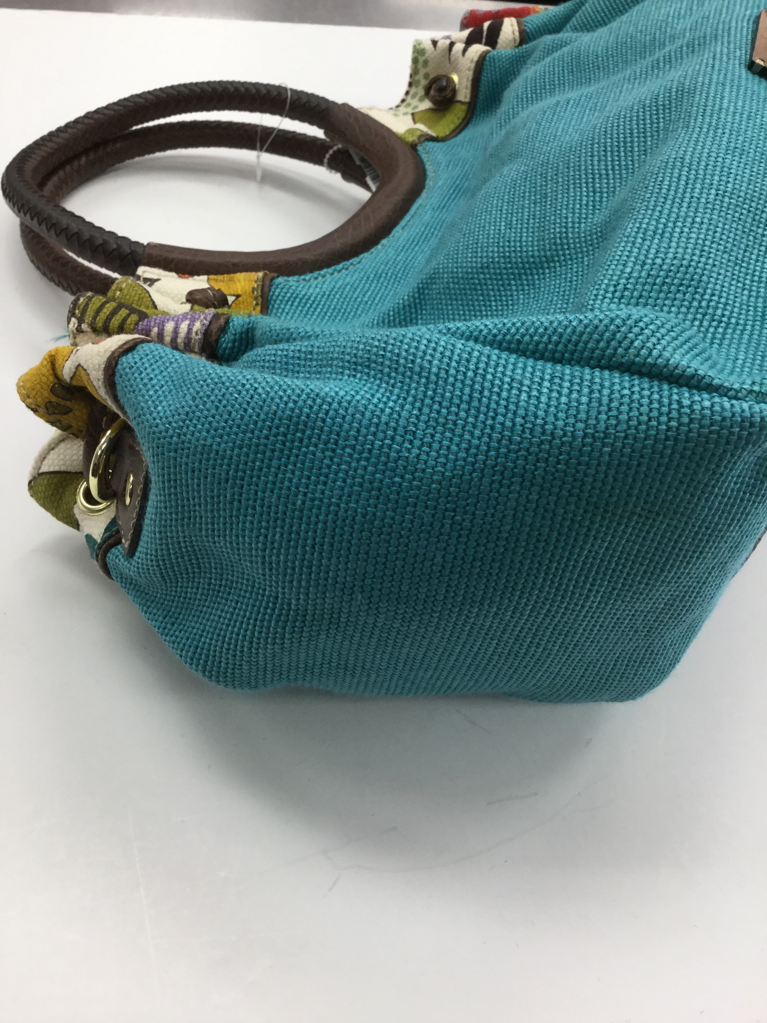 Photo #1 - BRAND: RELIC <BR>STYLE: HANDBAG <BR>COLOR: TURQUOISE <BR>SIZE: LARGE <BR>SKU: 155-155224-9164