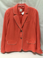 Primary Photo - BRAND: GAP <BR>STYLE: BLAZER JACKET <BR>COLOR: MELON <BR>SIZE: 1X <BR>SKU: 155-155187-23599