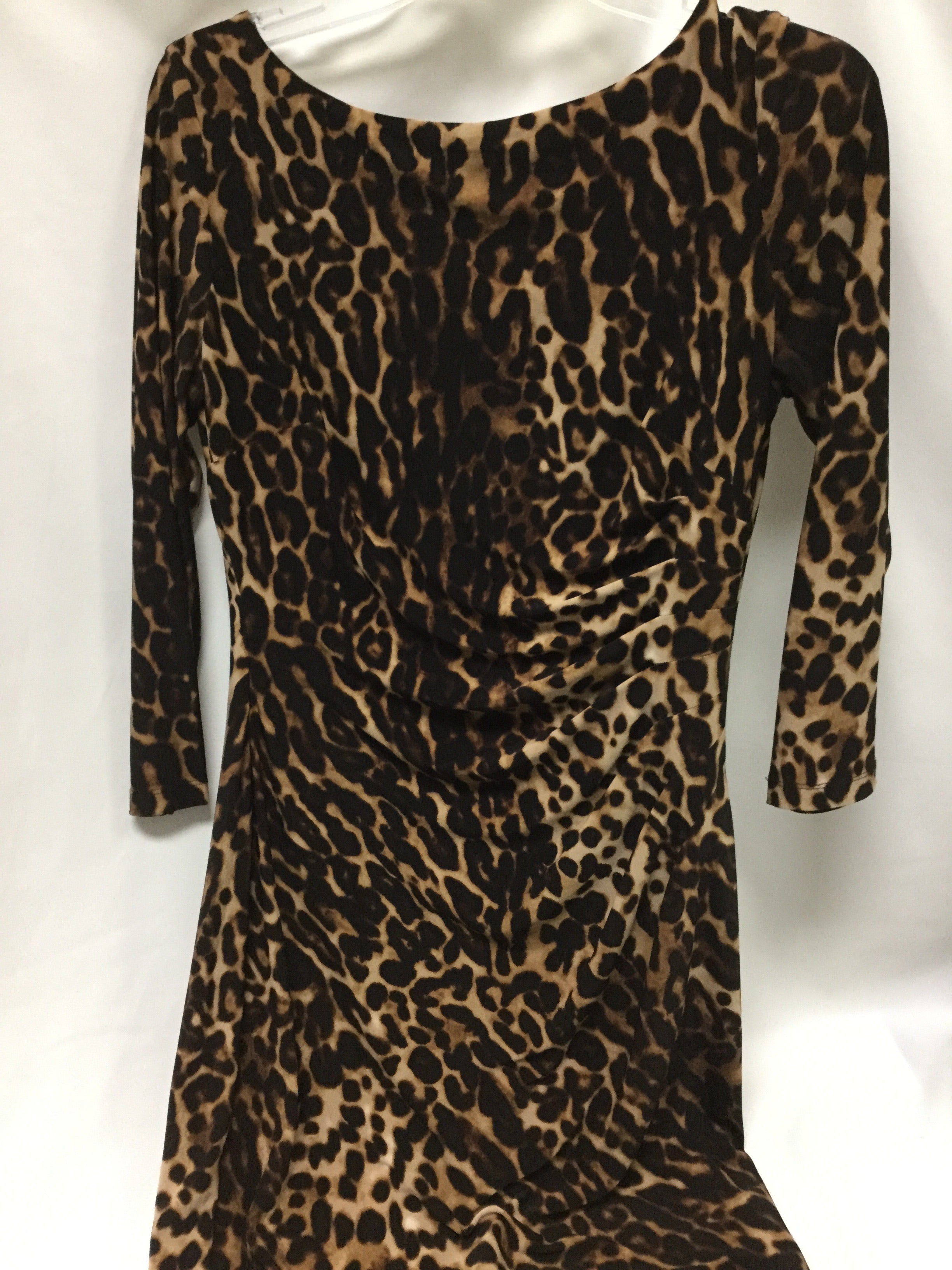 Primary Photo - BRAND: LAUREN BY RALPH LAUREN <BR>STYLE: DRESS SHORT LONG SLEEVE <BR>COLOR: ANIMAL PRINT <BR>SIZE: 6 <BR>SKU: 155-155228-991