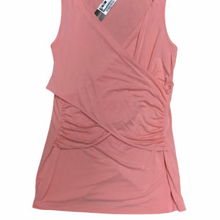 Primary Photo - BRAND: A GLOW STYLE: MATERNITY TOP SLEEVELESS COLOR: PEACH SIZE: L SKU: 155-155226-2857