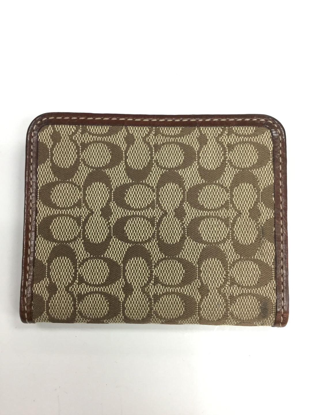 Primary Photo - BRAND: COACH <BR>STYLE: WALLET <BR>COLOR: BROWN <BR>SIZE: SMALL <BR>SKU: 155-155201-11748