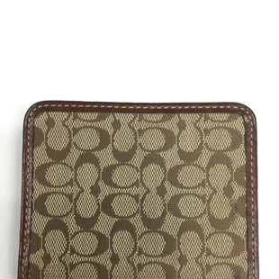 Primary Photo - BRAND: COACH STYLE: WALLET COLOR: BROWN SIZE: SMALL SKU: 155-155201-11748