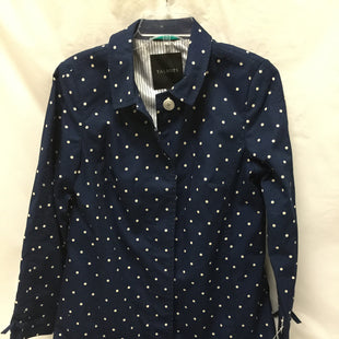 Primary Photo - BRAND: TALBOTS STYLE: COAT SHORT COLOR: NAVY SIZE: S SKU: 155-155224-6955