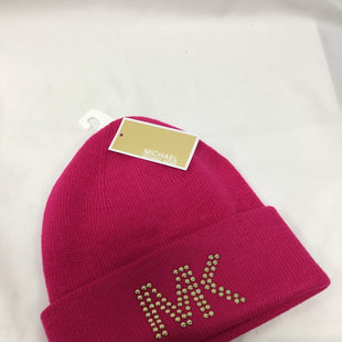 Primary Photo - BRAND: MICHAEL BY MICHAEL KORS STYLE: HAT COLOR: HOT PINK SKU: 155-155224-16980