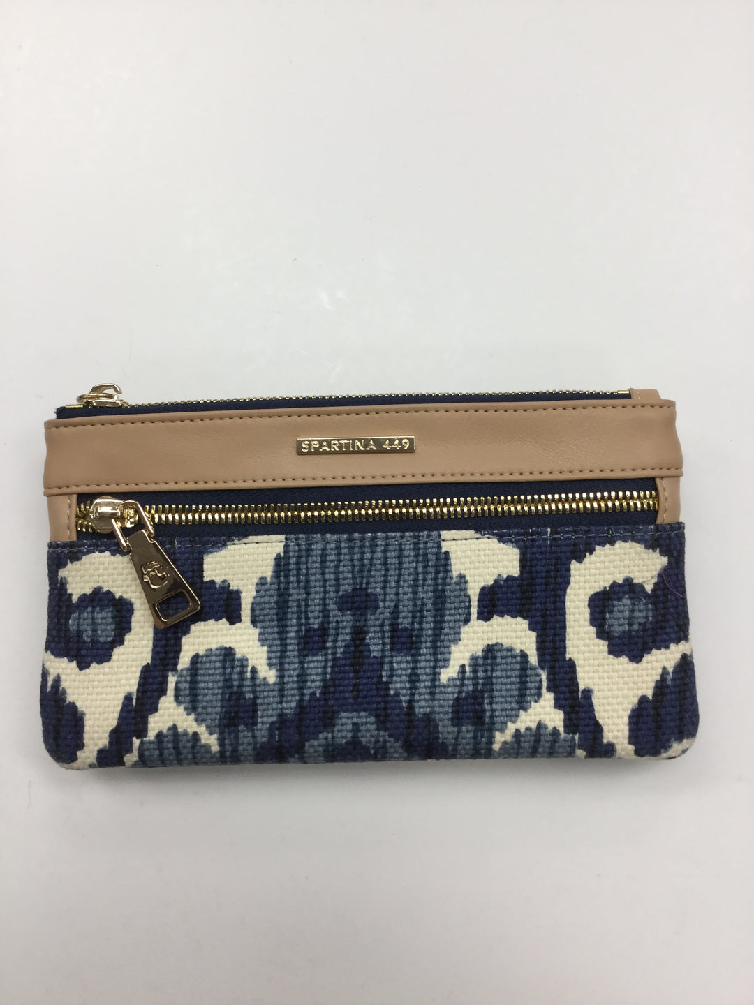 Primary Photo - BRAND: SPARTINA <BR>STYLE: WALLET <BR>COLOR: BLUE WHITE <BR>SIZE: LARGE <BR>SKU: 155-155224-6495