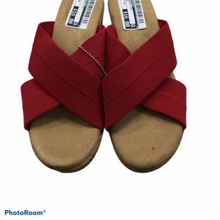Primary Photo - BRAND: SKECHERS STYLE: SANDALS HIGH COLOR: RED SIZE: 10 SKU: 155-155226-3661