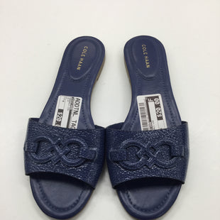 Primary Photo - BRAND: COLE-HAAN STYLE: SANDALS LOW COLOR: BLUE SIZE: 9 SKU: 155-155220-927