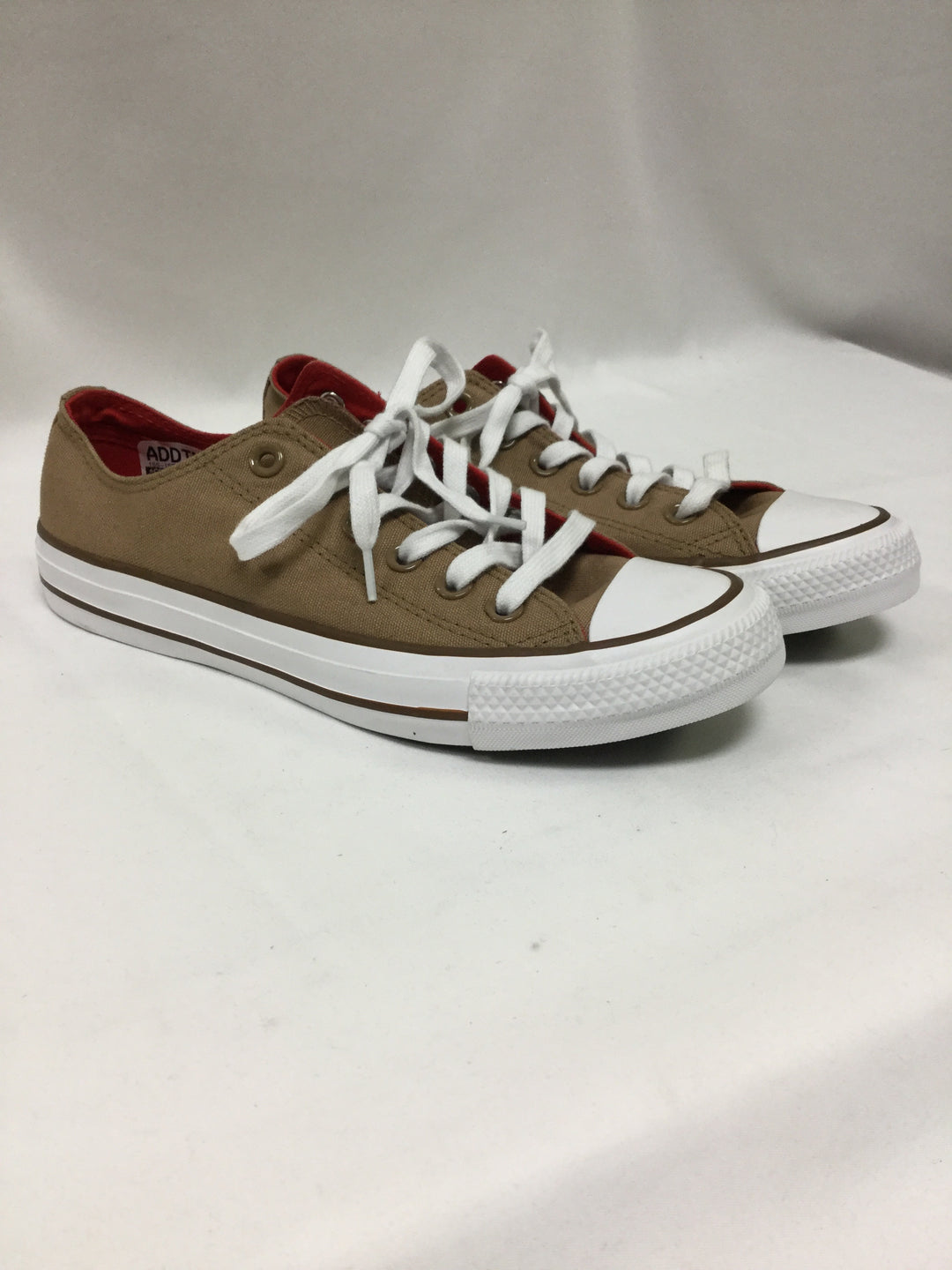 Primary Photo - BRAND: CONVERSE <BR>STYLE: SHOES ATHLETIC <BR>COLOR: TAN <BR>SIZE: 7 <BR>SKU: 155-15545-208907