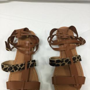Primary Photo - BRAND: NINE WEST STYLE: SANDALS FLAT COLOR: LEOPARD PRINT SIZE: 8 SKU: 155-155130-204582