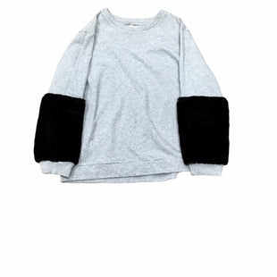 Primary Photo - BRAND: DKNY STYLE: SWEATER HEAVYWEIGHT COLOR: GREY SIZE: L SKU: 155-155224-21171