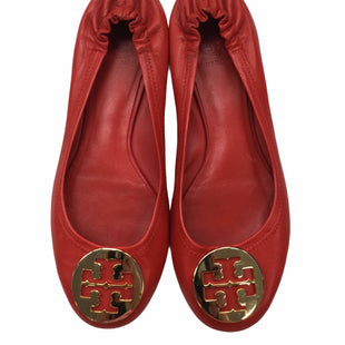 Primary Photo - BRAND: TORY BURCH STYLE: SHOES FLATS COLOR: CORAL SIZE: 7.5 SKU: 155-155130-218221