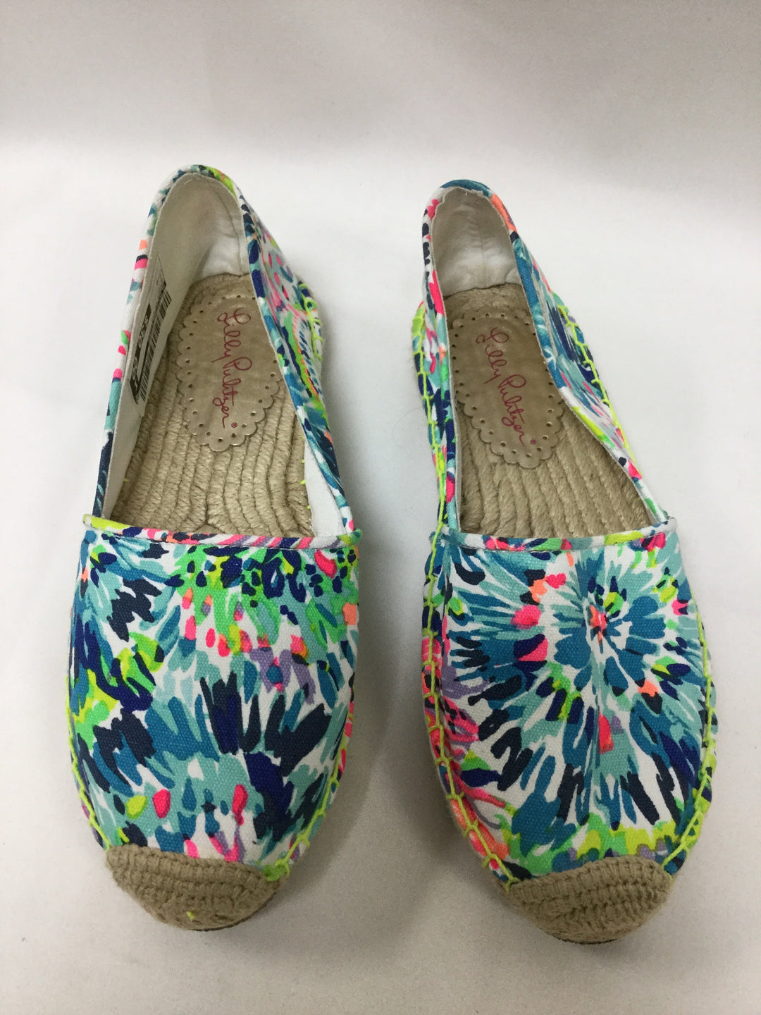 Primary Photo - BRAND: LILLY PULITZER <BR>STYLE: SHOES FLATS <BR>COLOR: BLUE <BR>SIZE: 9 <BR>SKU: 155-155187-24226
