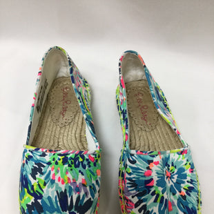 Primary Photo - BRAND: LILLY PULITZER STYLE: SHOES FLATS COLOR: BLUE SIZE: 9 SKU: 155-155187-24226