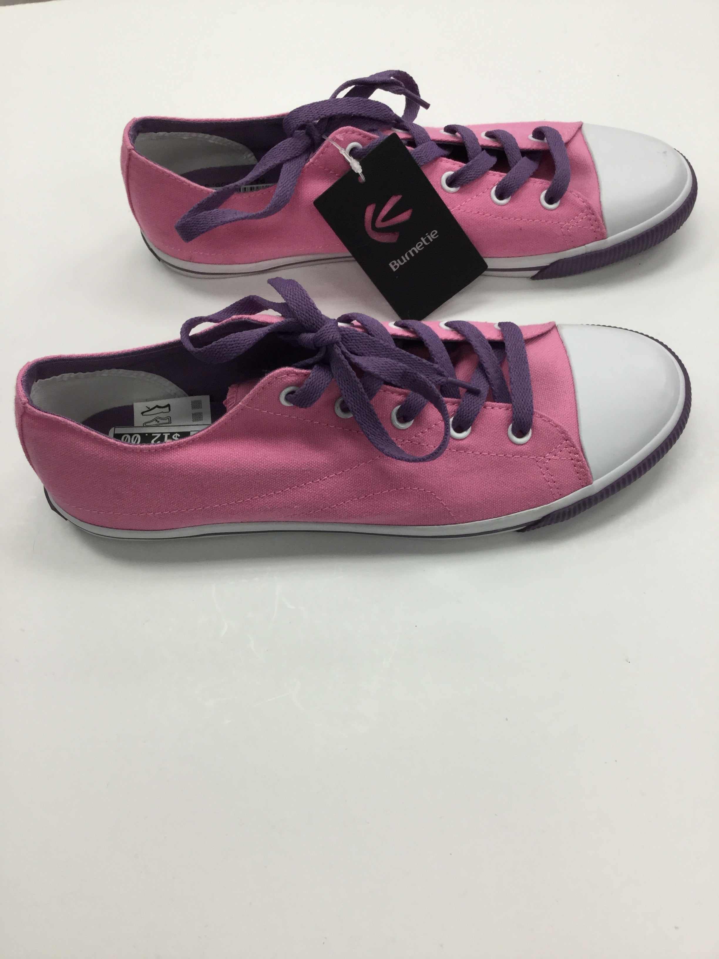 Photo #2 - BRAND:    BURNETIE<BR>STYLE: SHOES ATHLETIC <BR>COLOR: PINK PURPLE WHITE<BR>SIZE: 10 <BR>SKU: 162-16287-33544