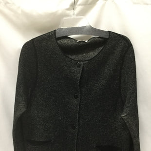 Primary Photo - BRAND:    CLOTHES MENTOR STYLE: SWEATER CARDIGAN HEAVYWEIGHT COLOR: BLACK SIZE: L OTHER INFO: TSE - SKU: 155-155233-607