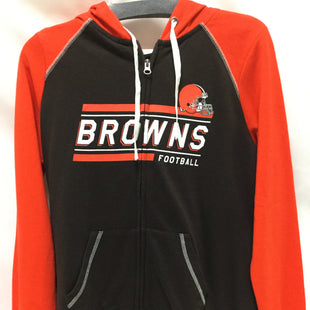 Primary Photo - BRAND: NFL STYLE: ATHLETIC JACKET COLOR: ORANGE SIZE: M SKU: 155-15599-240133