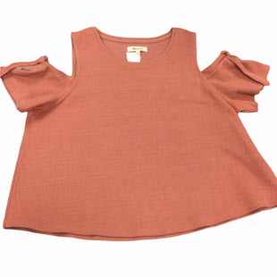 Primary Photo - BRAND: MADEWELL STYLE: TOP SHORT SLEEVE COLOR: CLAY SIZE: L SKU: 155-155245