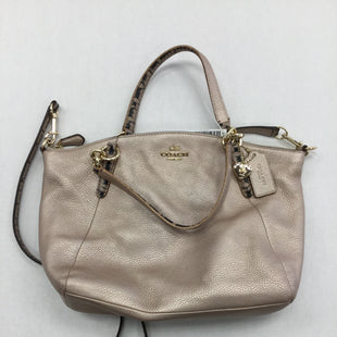 Primary Photo - BRAND: COACH STYLE: HANDBAG COLOR: PINK SIZE: SMALL OTHER INFO: NOTED SKU: 155-155201-17254